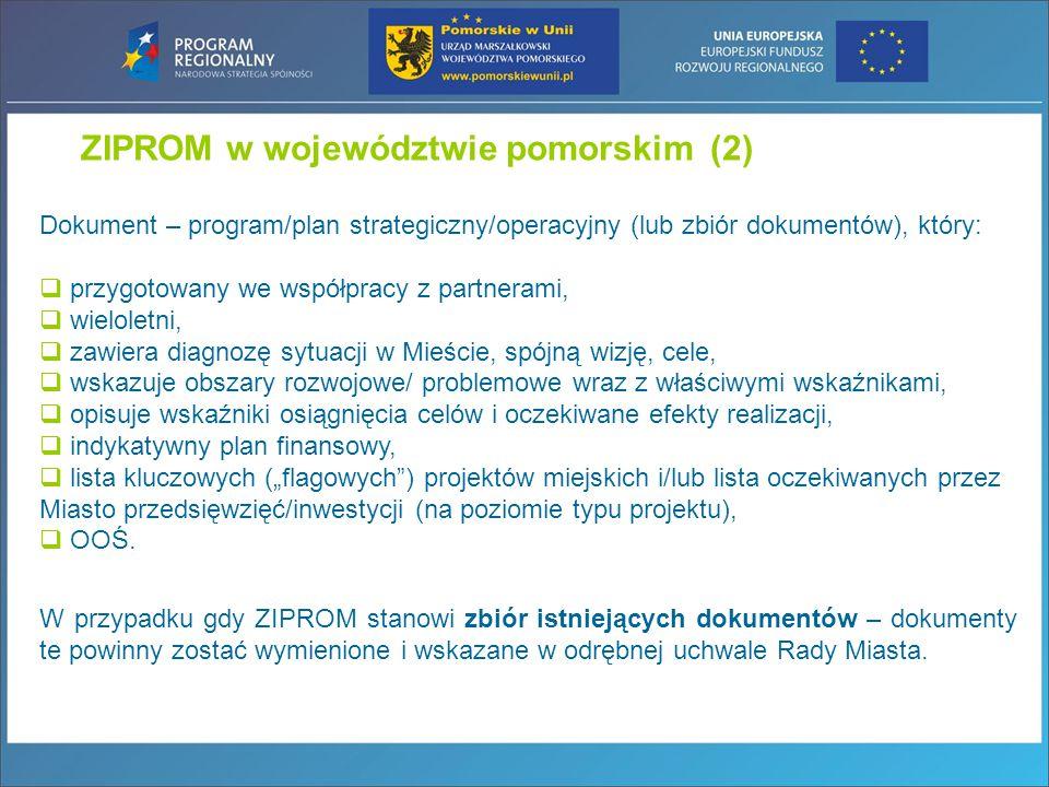 ZIPROM w województwie pomorskim (2)