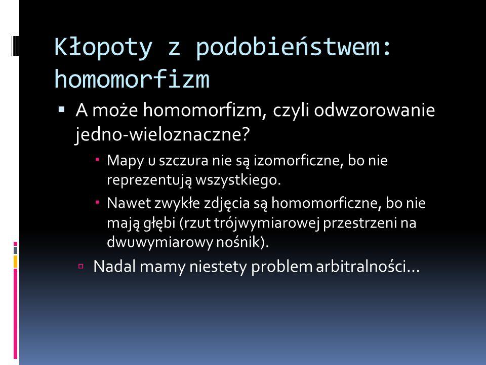 Kłopoty z podobieństwem: homomorfizm