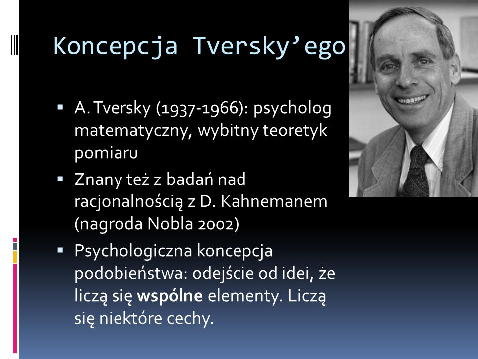 Koncepcja Tversky'ego
