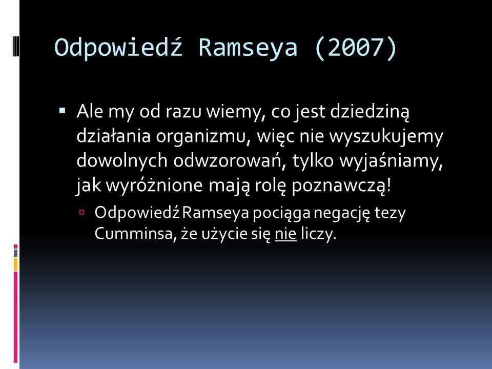 Odpowiedź Ramseya (2007)