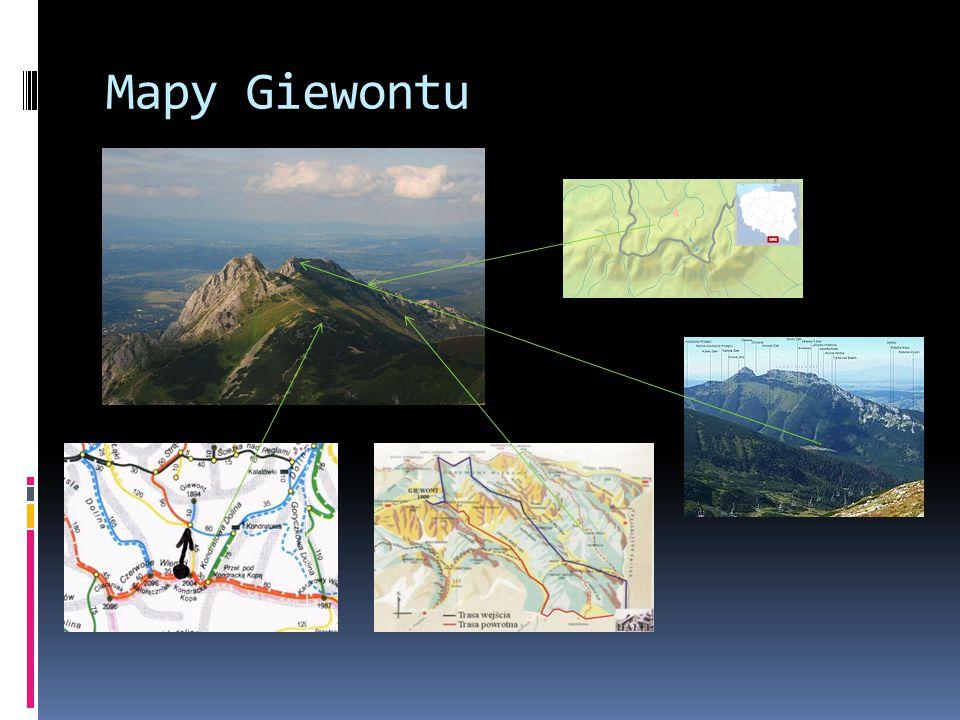 Mapy Giewontu