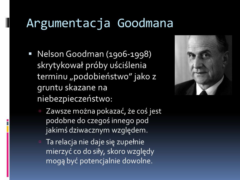 Argumentacja Goodmana