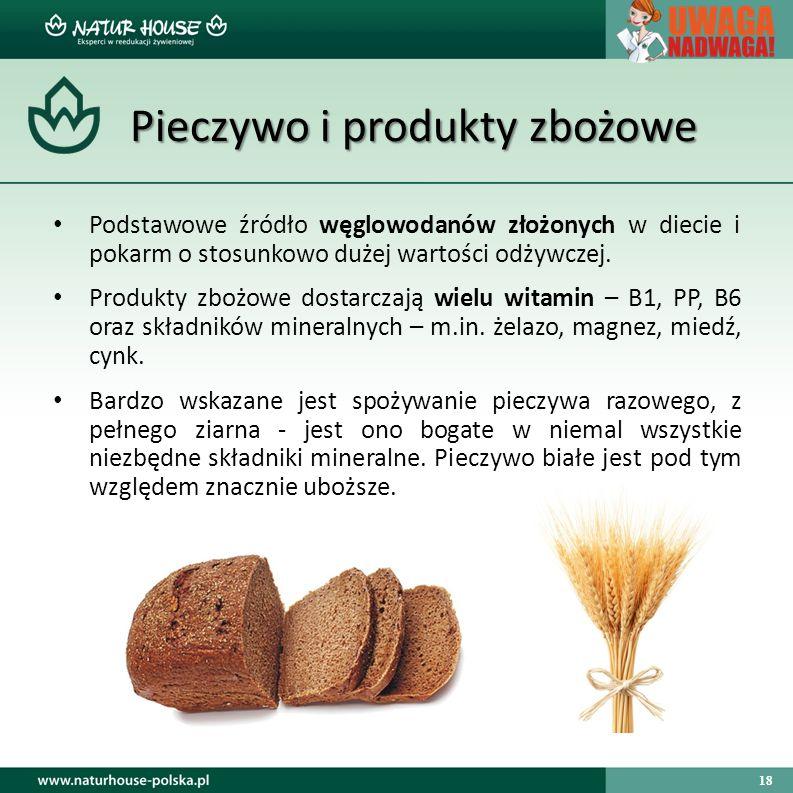 Pieczywo i produkty zbożowe