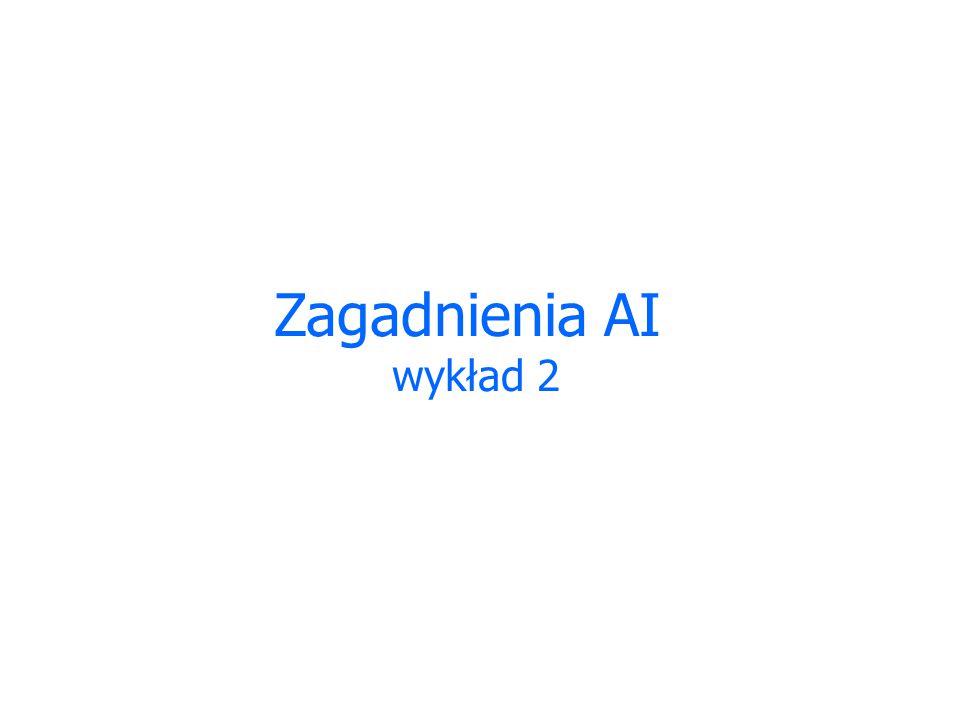 Zagadnienia AI wykład 2