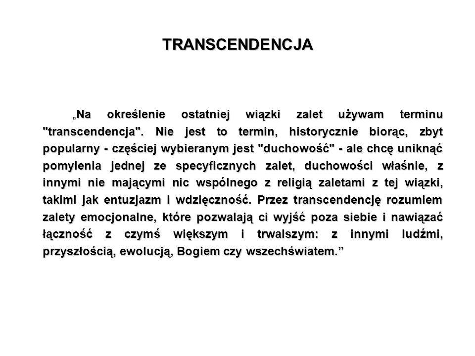TRANSCENDENCJA