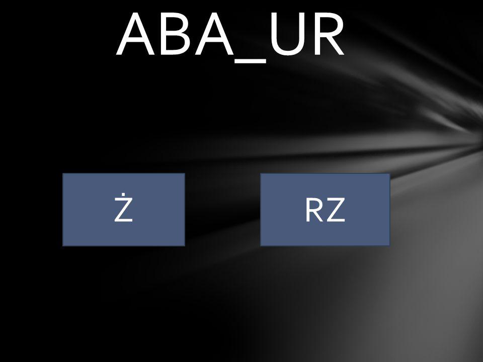 ABA_UR Ż RZ