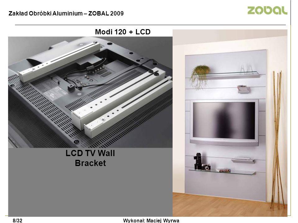 LCD TV Wall Bracket Modi 120 + LCD