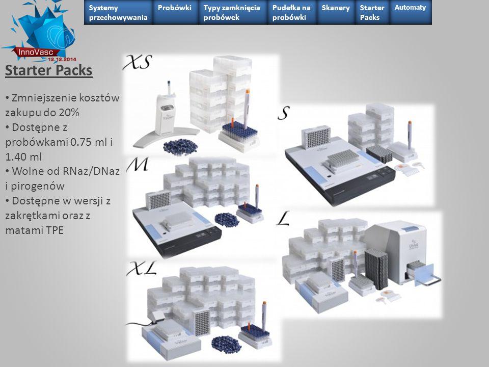 Starter Packs Zmniejszenie kosztów zakupu do 20%