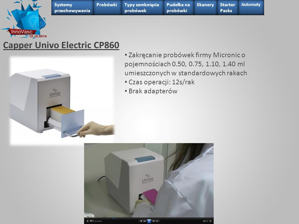 Capper Univo Electric CP860