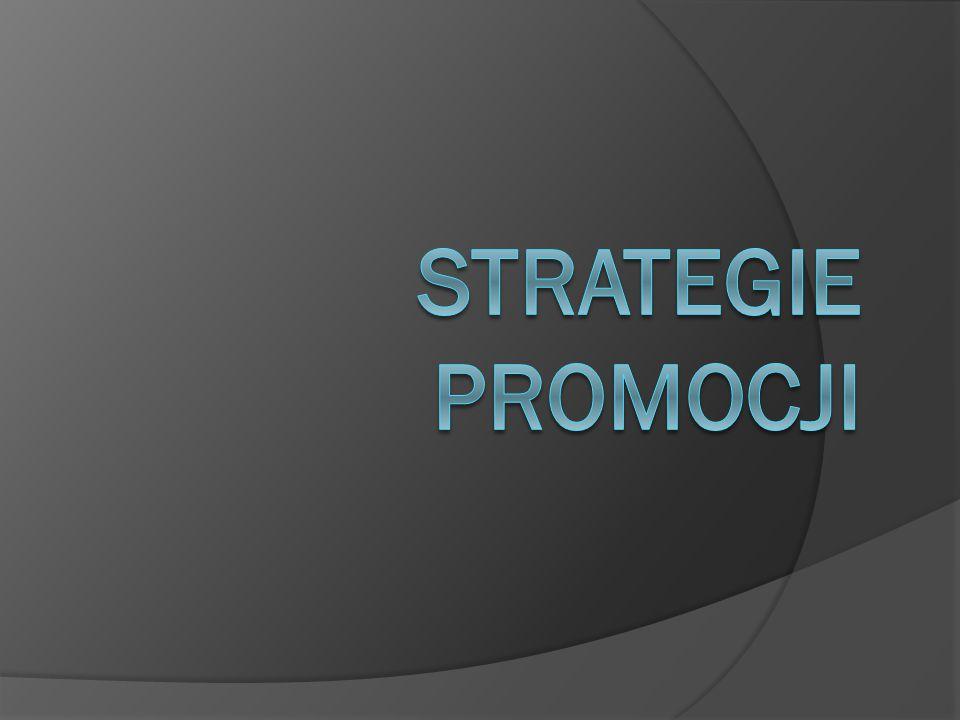 Strategie promocji
