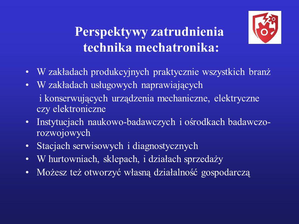 Perspektywy zatrudnienia technika mechatronika: