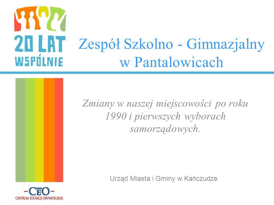 Zespół Szkolno - Gimnazjalny w Pantalowicach