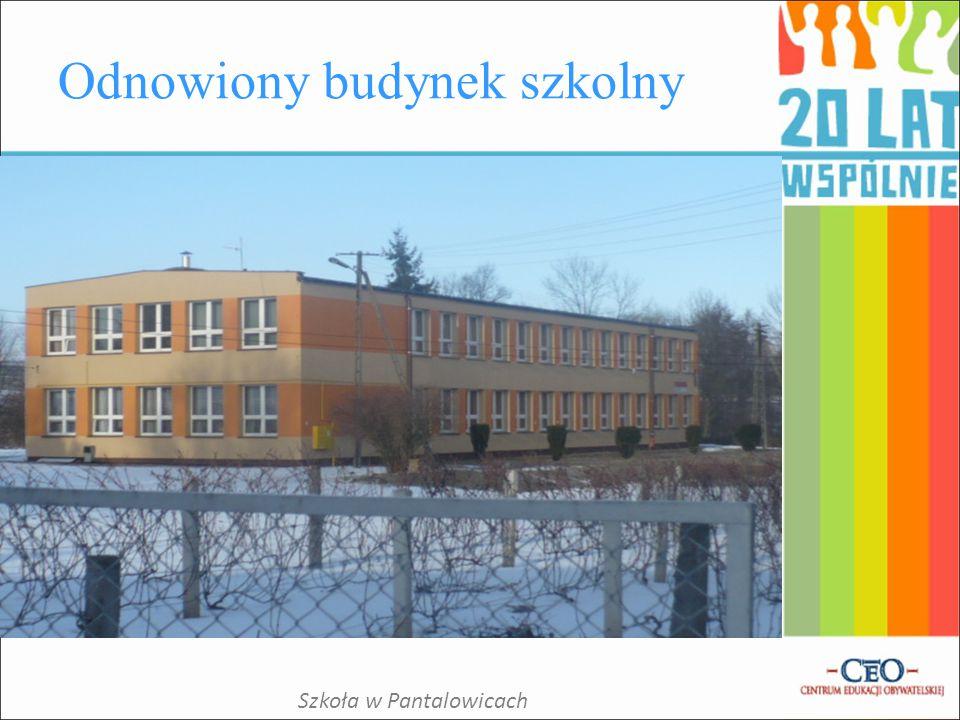 Odnowiony budynek szkolny