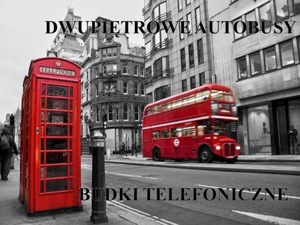 DWUPIĘTROWE AUTOBUSY BUDKI TELEFONICZNE