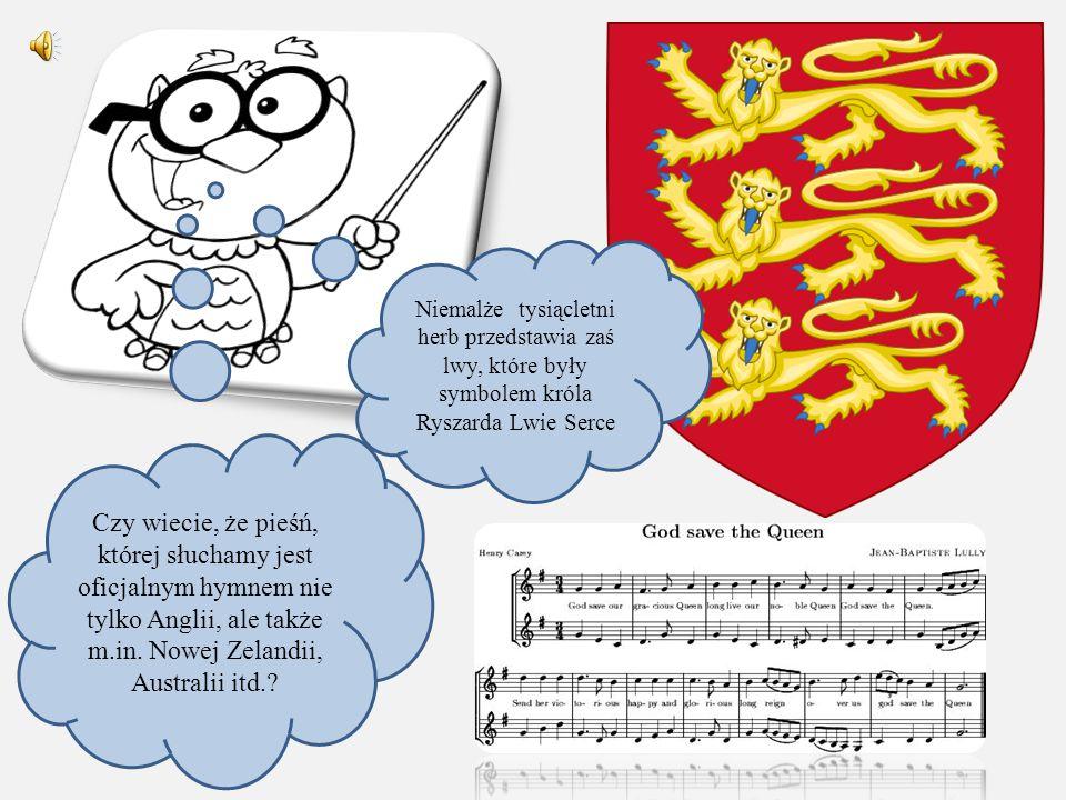 Niemalże tysiącletni herb przedstawia zaś lwy, które były symbolem króla Ryszarda Lwie Serce