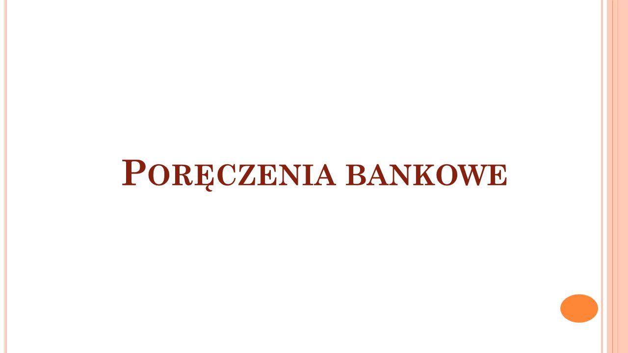 Poręczenia bankowe