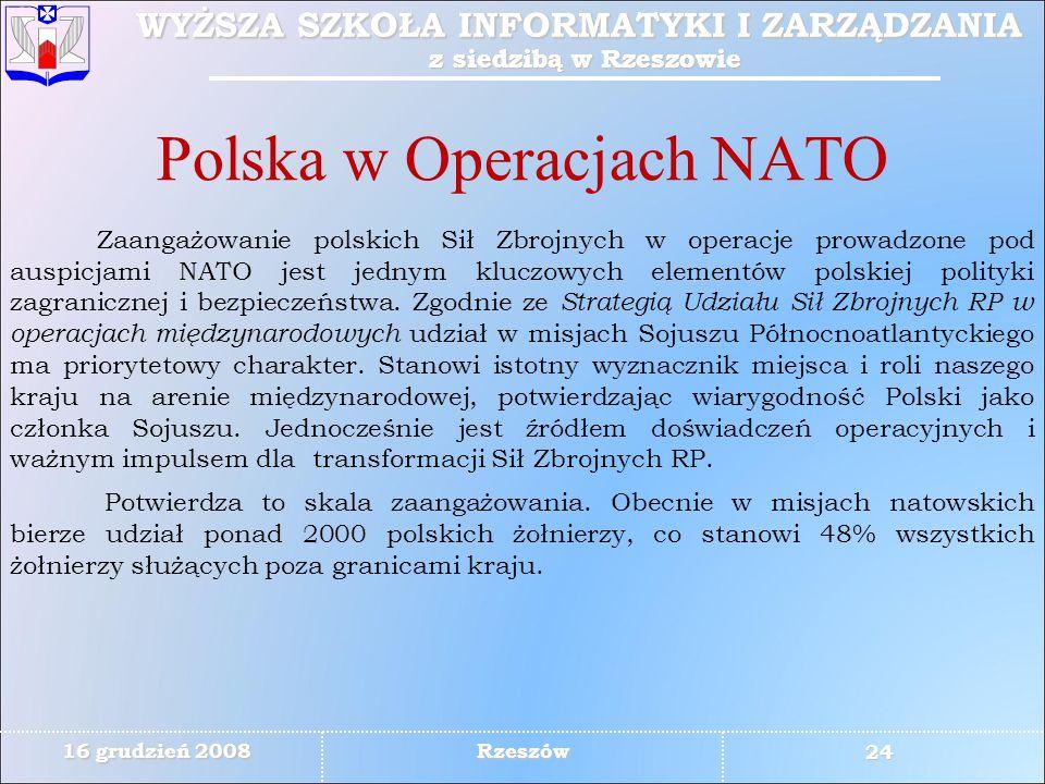Polska w Operacjach NATO