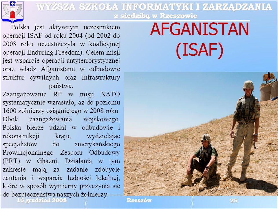 AFGANISTAN (ISAF)