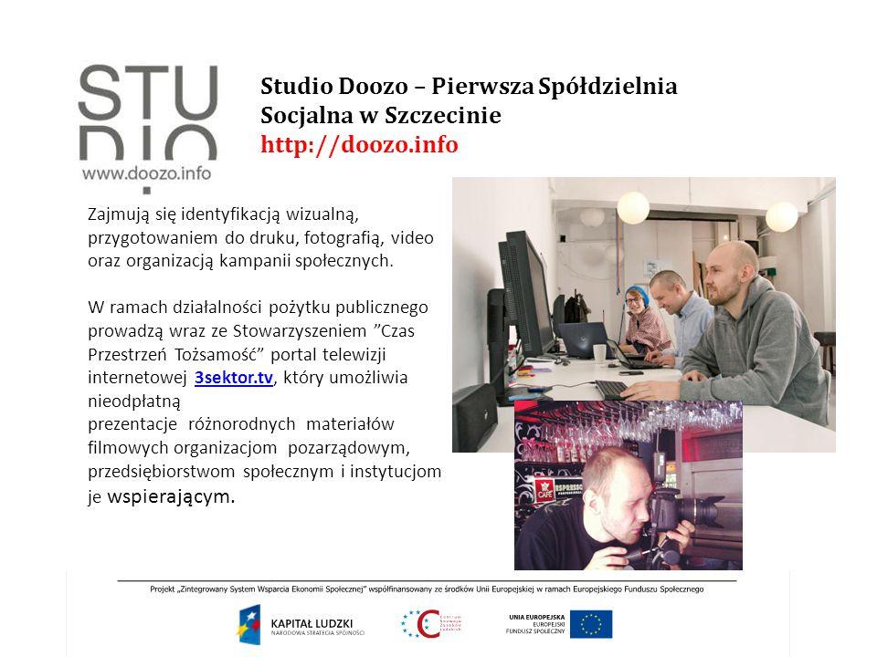 Studio Doozo – Pierwsza Spółdzielnia Socjalna w Szczecinie