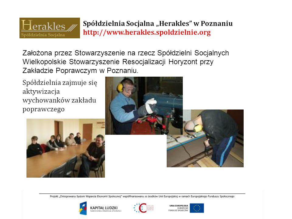"""Spółdzielnia Socjalna """"Herakles w Poznaniu http://www. herakles"""