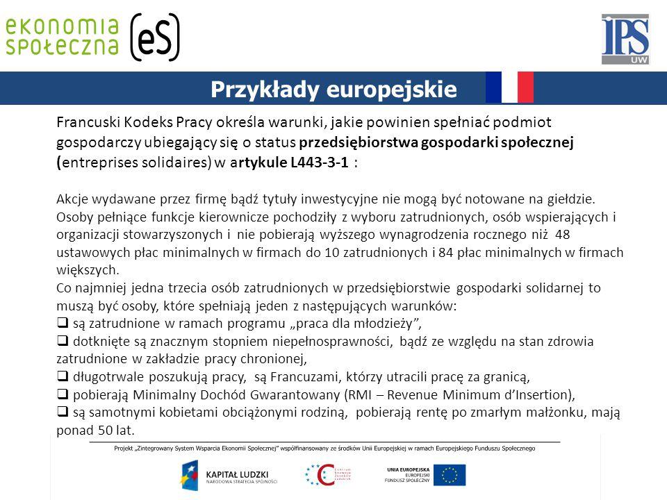 Przykłady europejskie