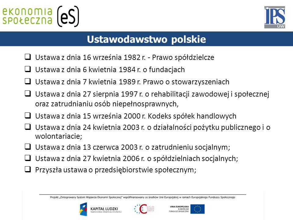 Ustawodawstwo polskie