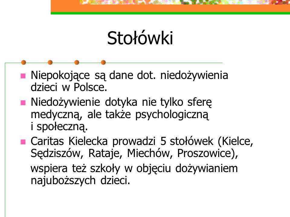 Stołówki Niepokojące są dane dot. niedożywienia dzieci w Polsce.