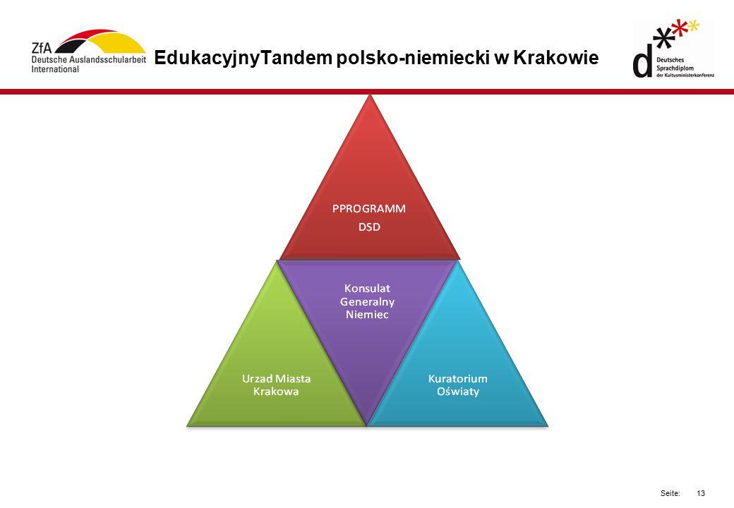 EdukacyjnyTandem polsko-niemiecki w Krakowie