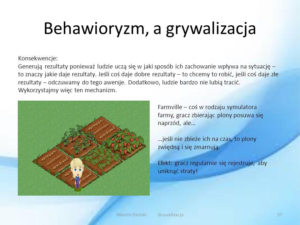 Behawioryzm, a grywalizacja