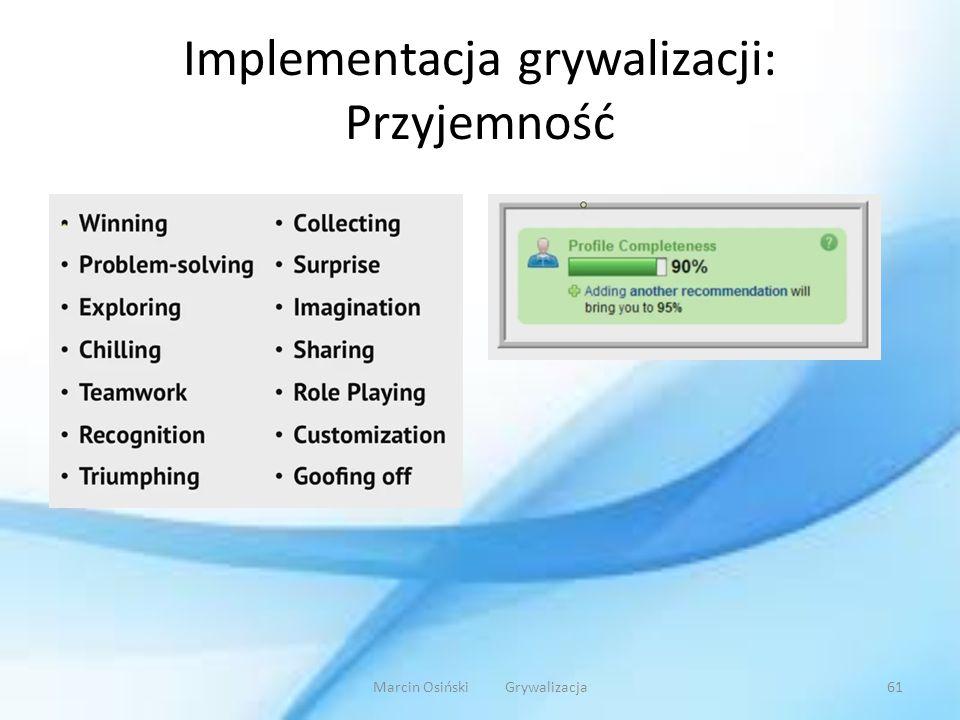 Implementacja grywalizacji: Przyjemność