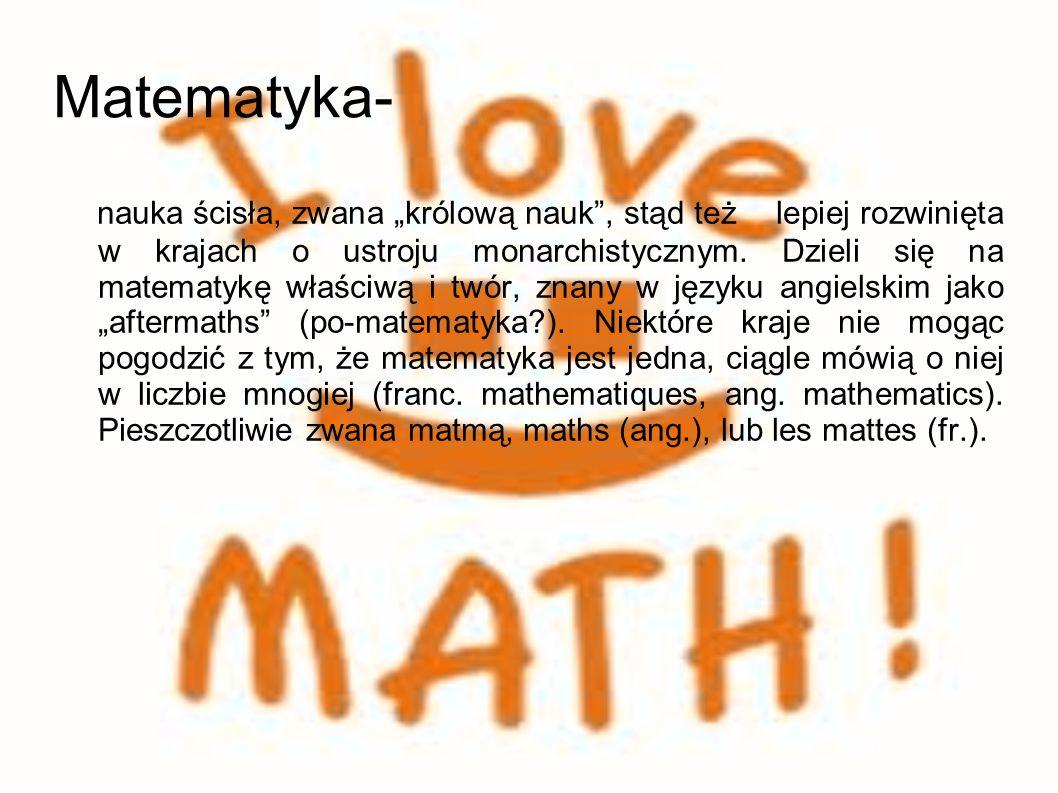 Matematyka-