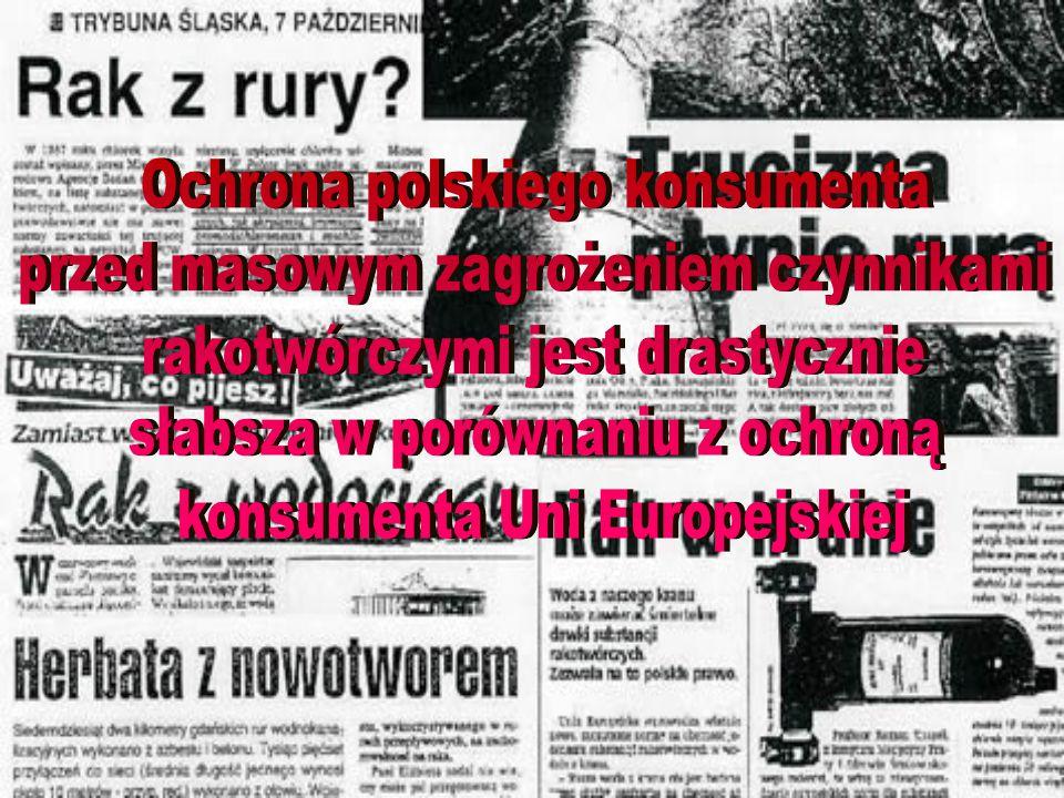 Ochrona polskiego konsumenta przed masowym zagrożeniem czynnikami