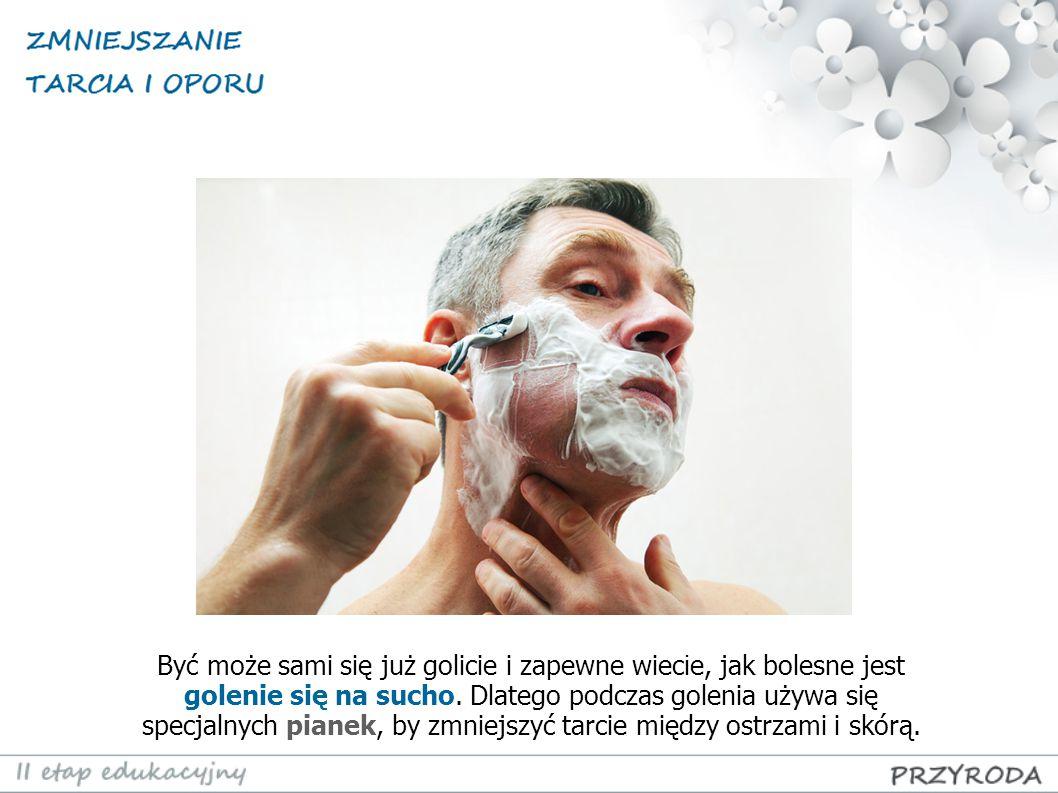 Być może sami się już golicie i zapewne wiecie, jak bolesne jest golenie się na sucho.