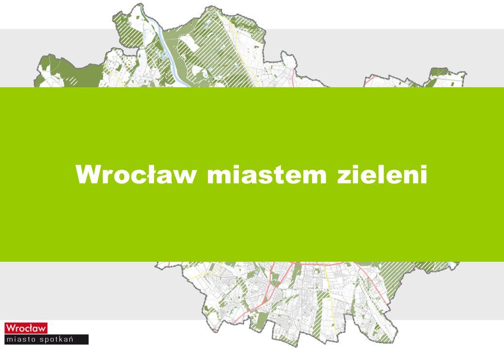 Wrocław miastem zieleni