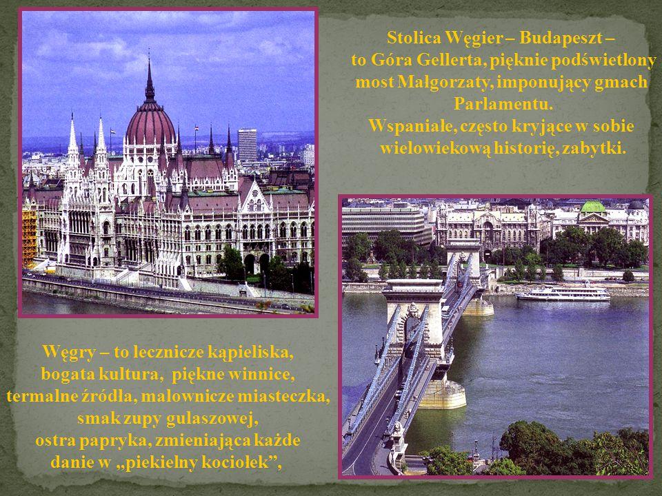 Stolica Węgier – Budapeszt – to Góra Gellerta, pięknie podświetlony