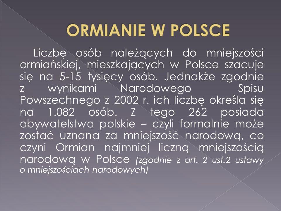 ORMIANIE W POLSCE