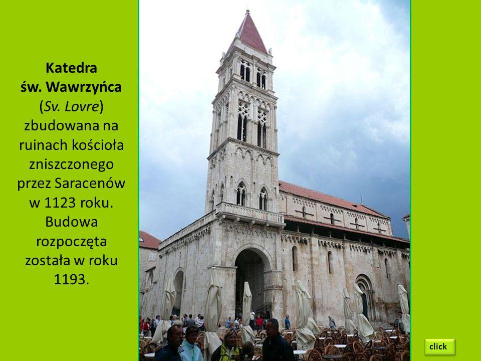 Budowa rozpoczęta została w roku 1193.