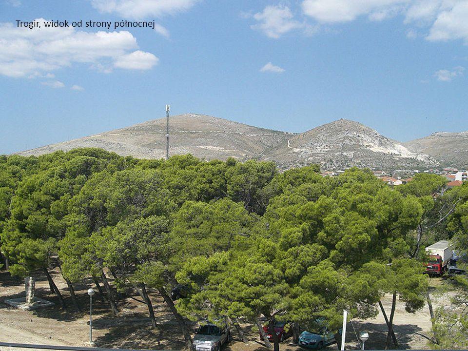 Trogir, widok od strony północnej