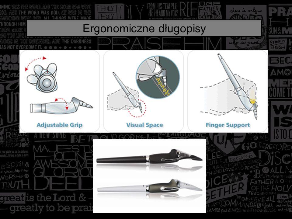 Ergonomiczne długopisy