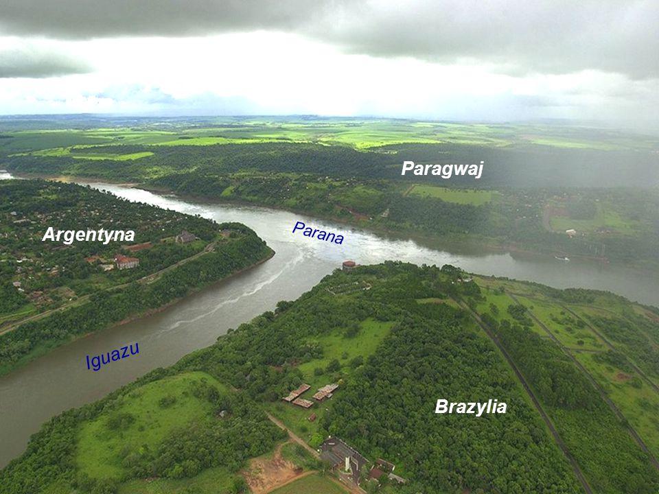 Paragwaj Argentyna Parana Iguazu Brazylia