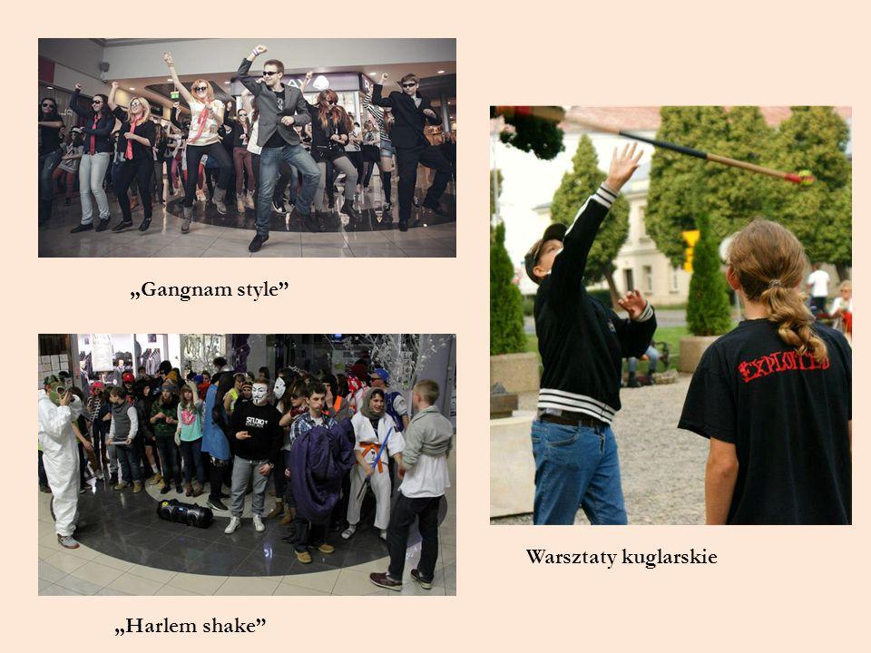"""""""Gangnam style Warsztaty kuglarskie """"Harlem shake"""