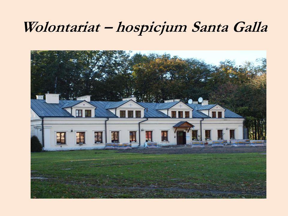 Wolontariat – hospicjum Santa Galla