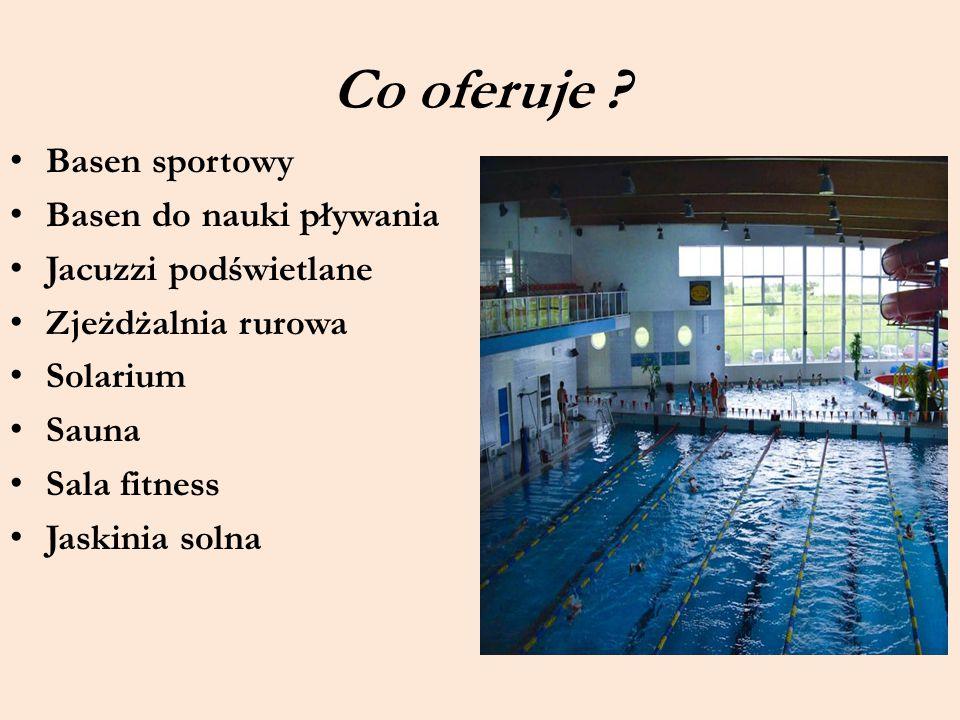 Co oferuje Basen sportowy Basen do nauki pływania