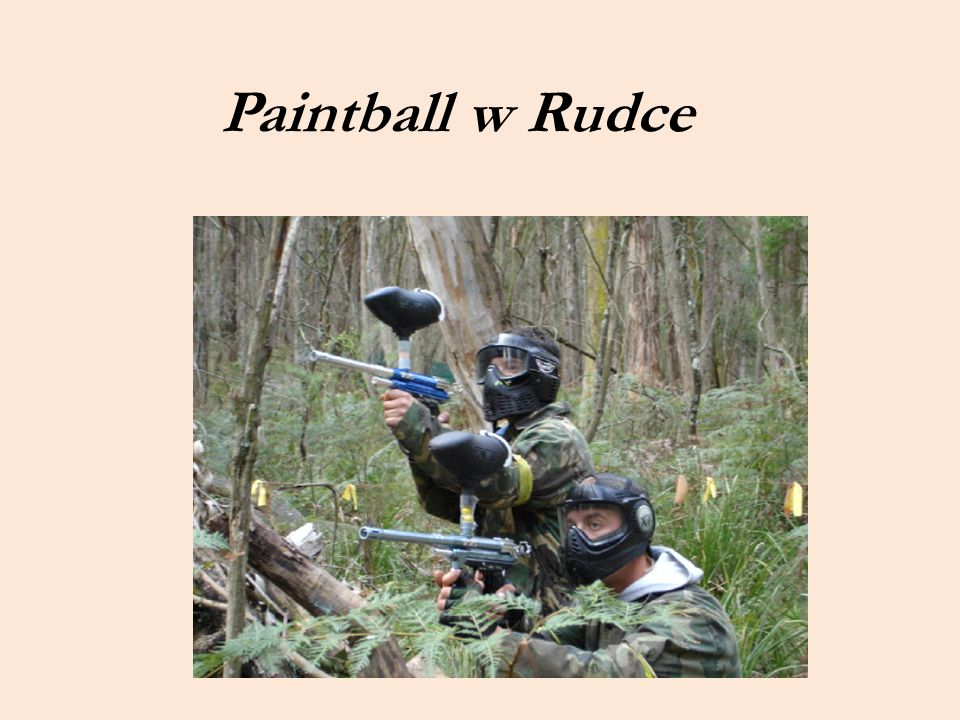 Paintball w Rudce