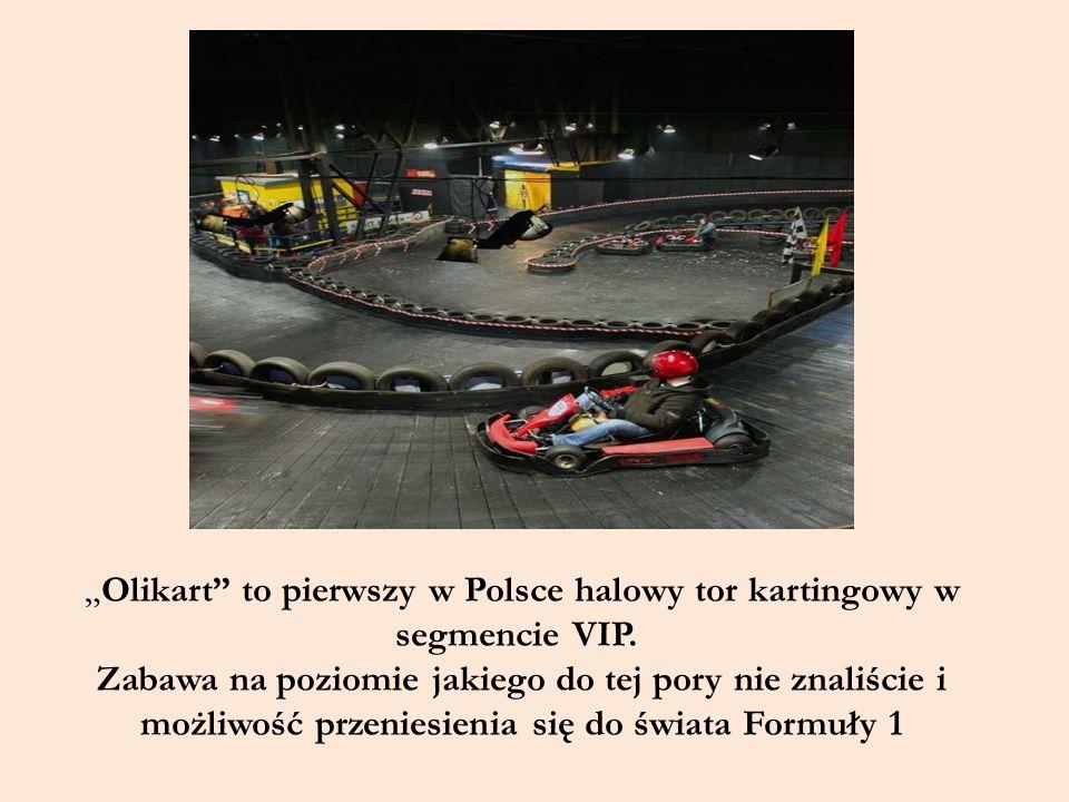 """""""Olikart to pierwszy w Polsce halowy tor kartingowy w segmencie VIP."""