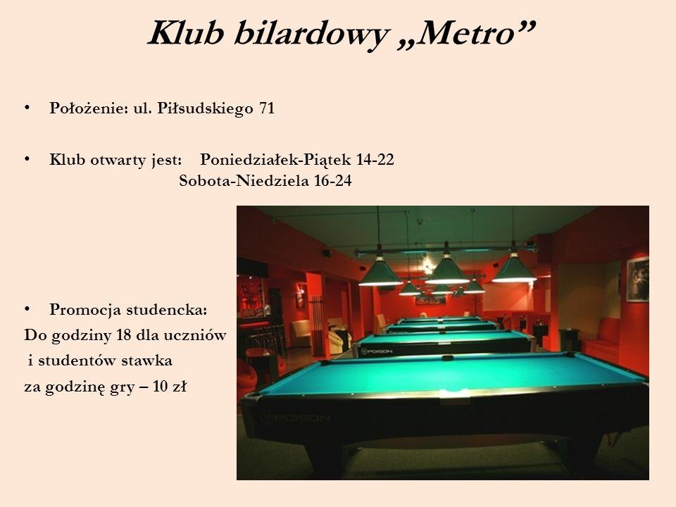 "Klub bilardowy ""Metro"