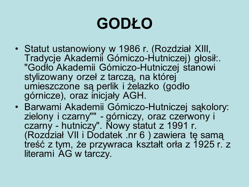 GODŁO