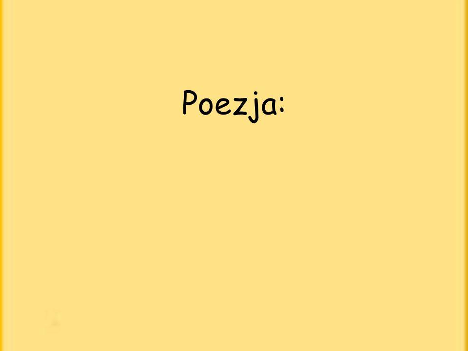 Poezja: