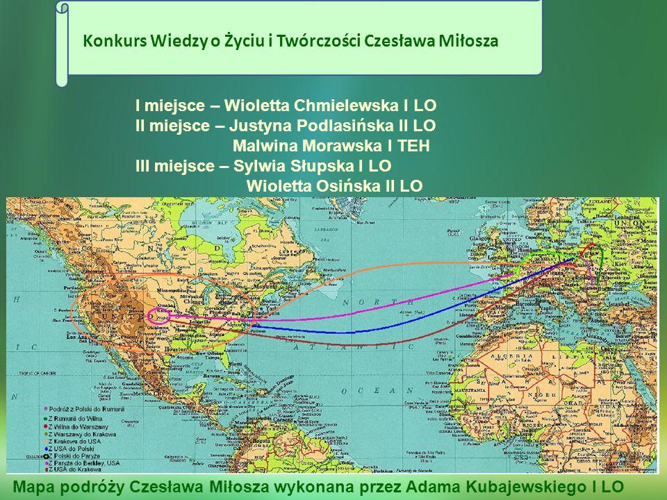 Konkurs Wiedzy o Życiu i Twórczości Czesława Miłosza