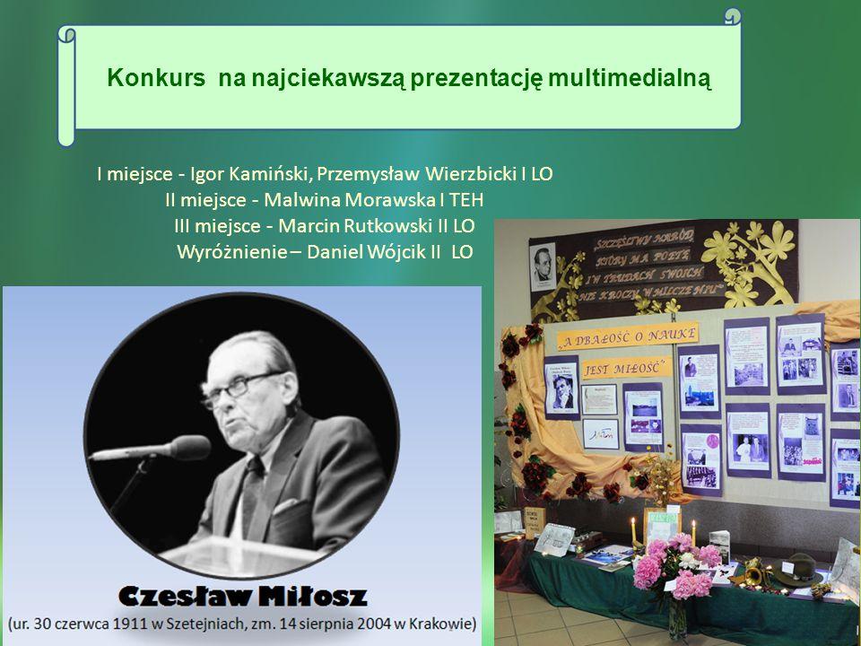 Konkurs na najciekawszą prezentację multimedialną